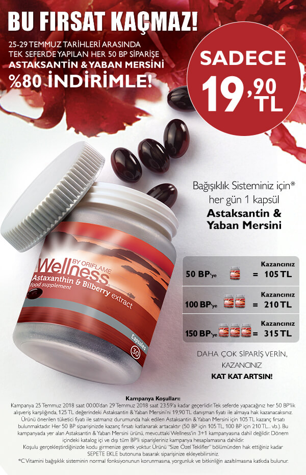 oriflame temmuz katalog kampanyası 2018
