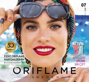 oriflame temmuz kataloğu kapak güneş gözlüğü kadın
