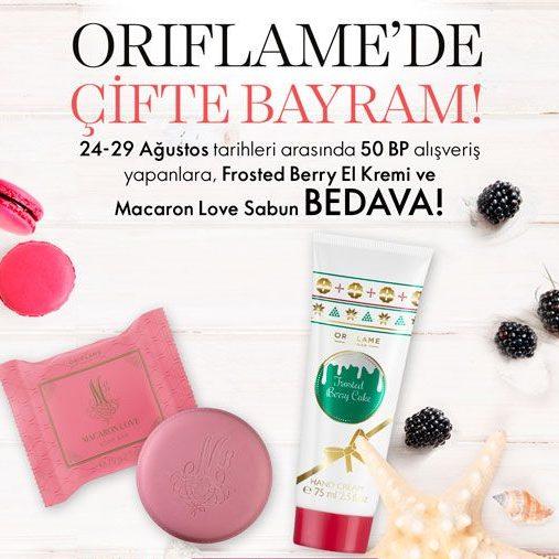 Oriflame Bayram Kampanyası Ağustos 2018