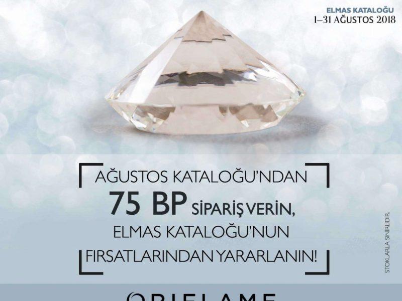 oriflame ağustos elmas kataloğu 2018