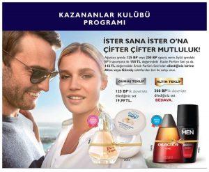 oriflame ağustos kazananlar kulübü programı 2019 parfüm