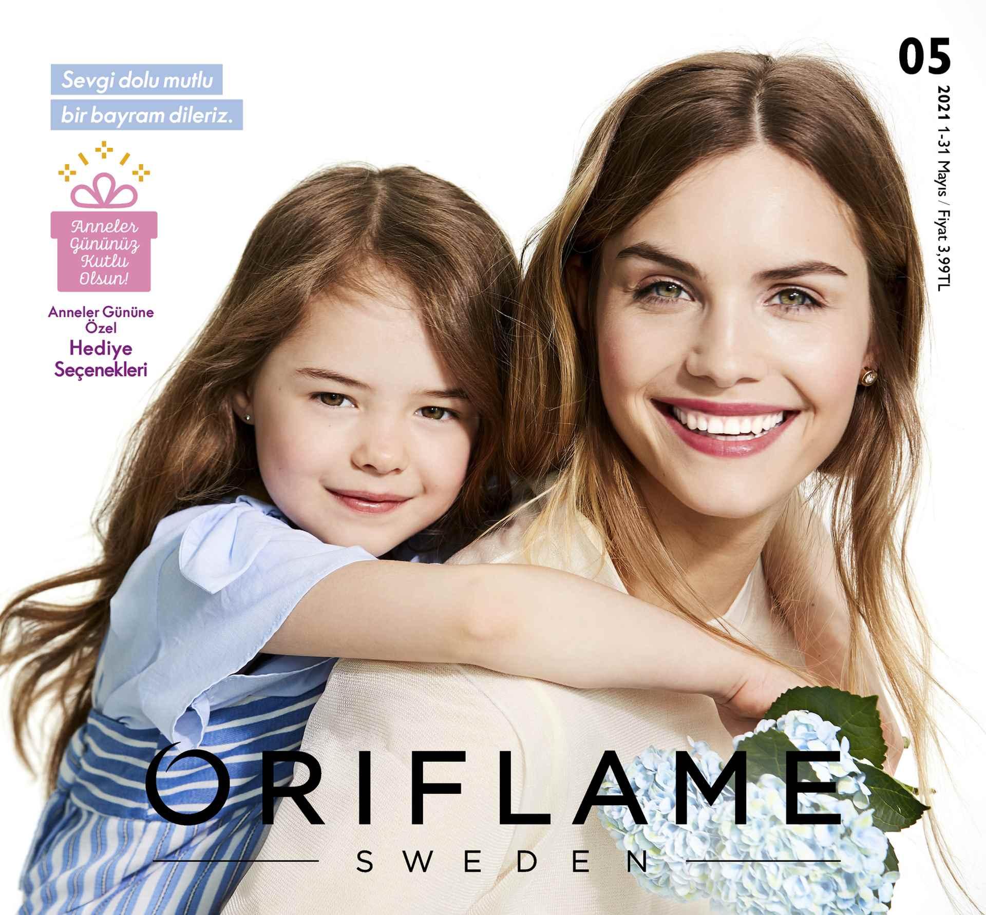 Oriflame Mayis Katalogu 2021