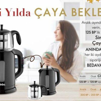 oriflame aralık kazananlar kulübü programı simbo çay makinesi