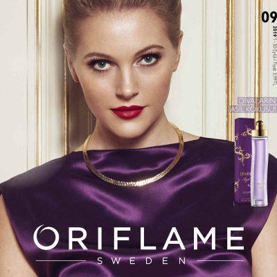 oriflame eylül kataloğu kapak resmi kadın parfüm oriflame üyelik